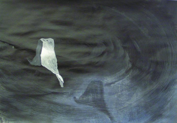 2004,acrylic on paper,60x70