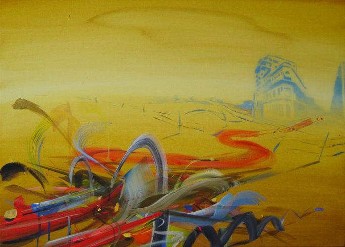 2006, acrylic on canvas, 50x60