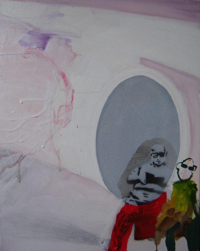 2007, acrylic oil on canvas, 50x40