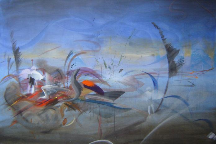 2007, acrylic on canvas, 100x150