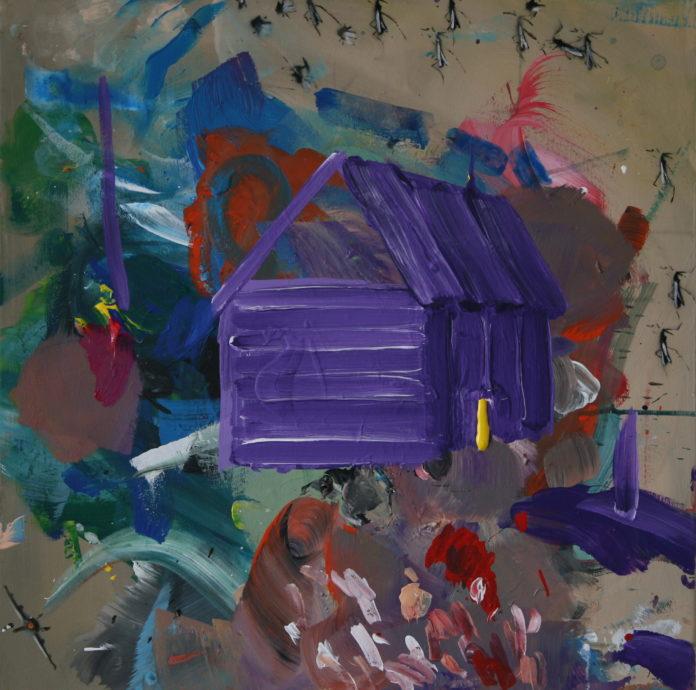 2008, acrylic on canvas, 60x60