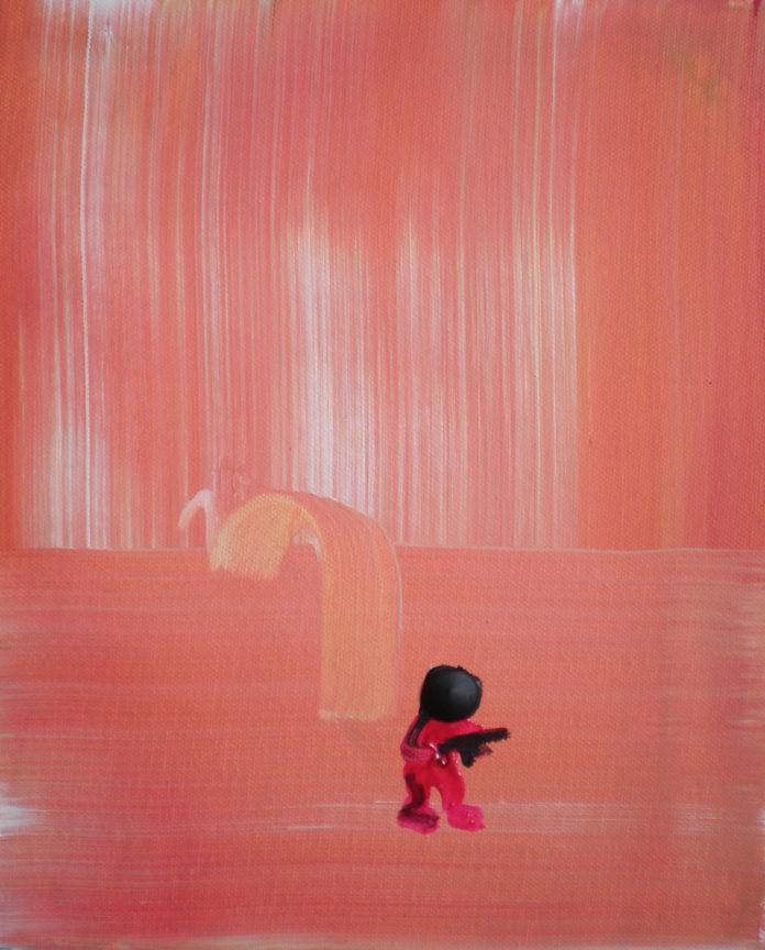 2008, acrylic on canvas, 30x25