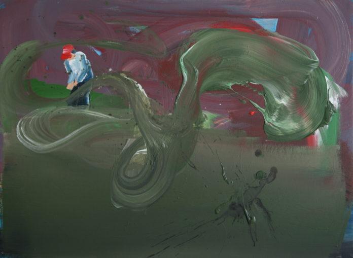 2009 acrylic on canvas,39X60,5