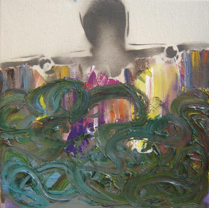 2011, acrylic, oil on canvas, 40X40