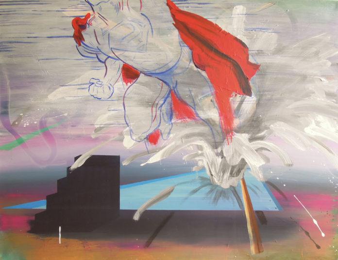 2012, acrylic on canvas, 114x150
