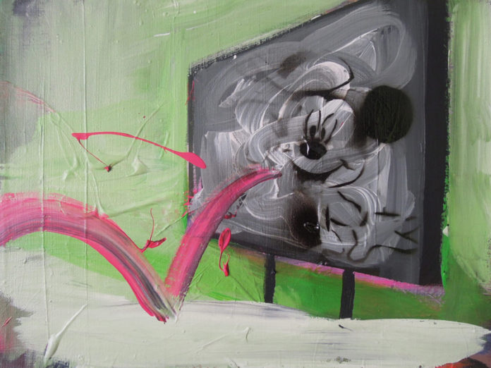 2012, acrylic on canvas, 40x30