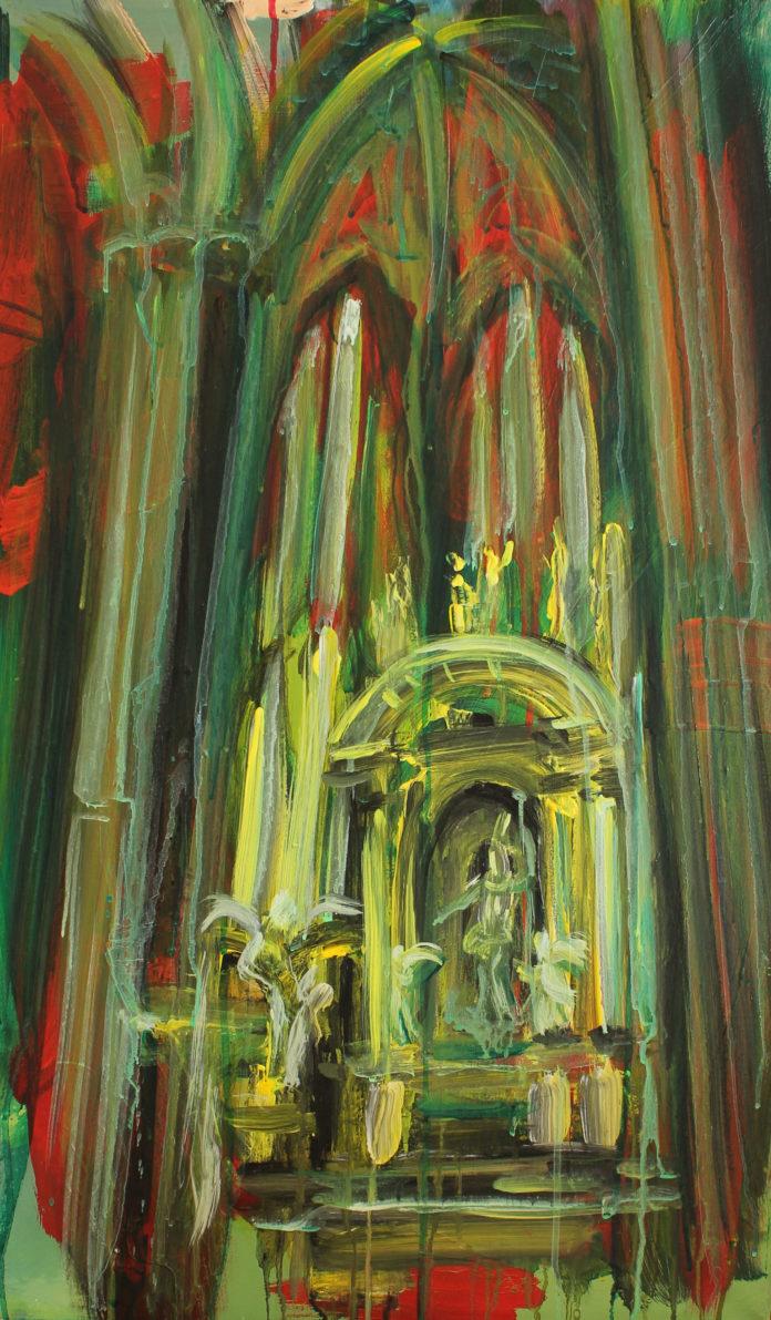 2015, acrylic, canvas, 75x45