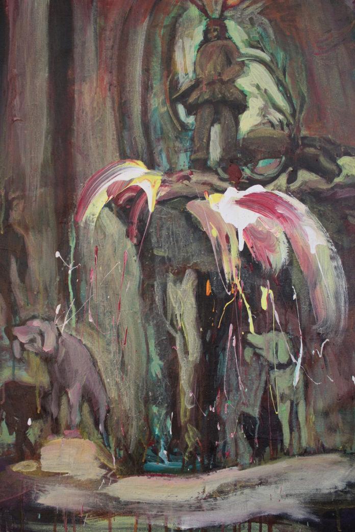 2016, acrylic, canvas, 75x55