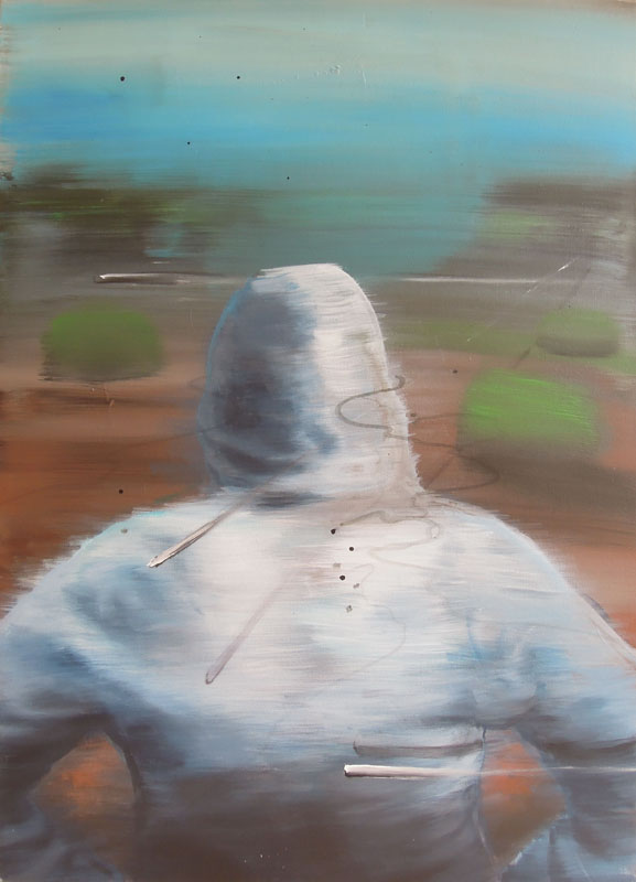 master of tomorrow, 2012, acrylic on canvas, 90x65