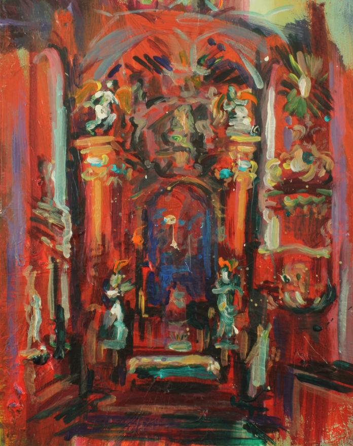 2015, acrylic, canvas, 50x40