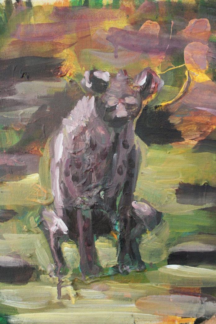 premena 2,2016, acrylic, canvas, 40x30