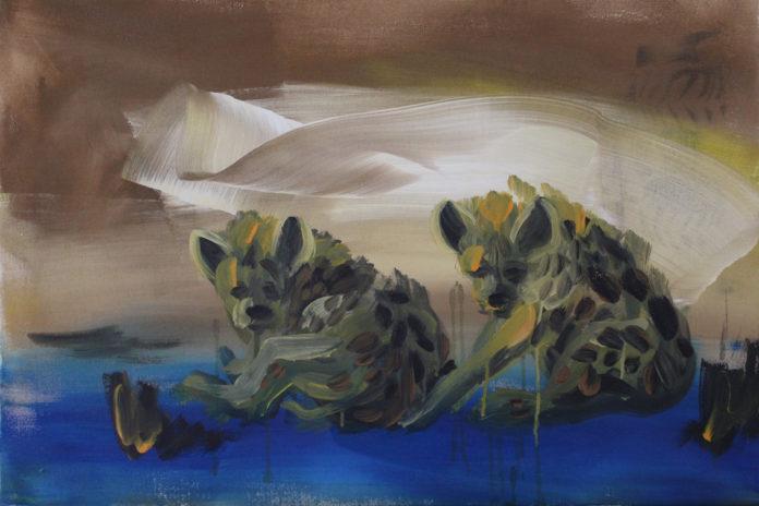 premena, 2016, acrylic, canvas, 61x91