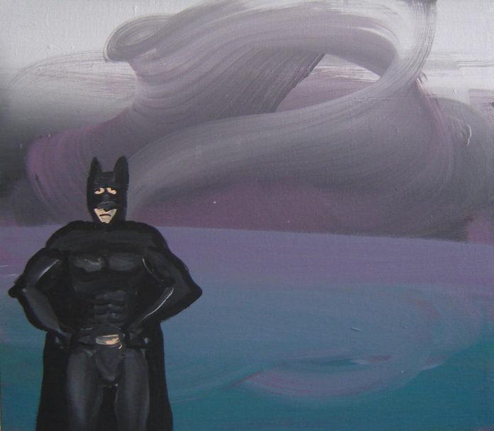 sadman, 2009 ,acrylic on canvas, 35x40