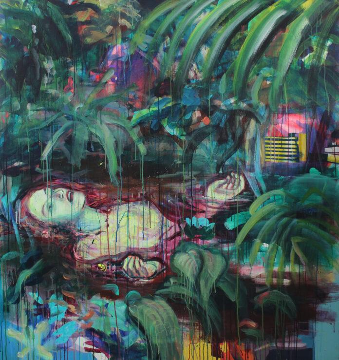 2019,acrylic on canvas,150x140
