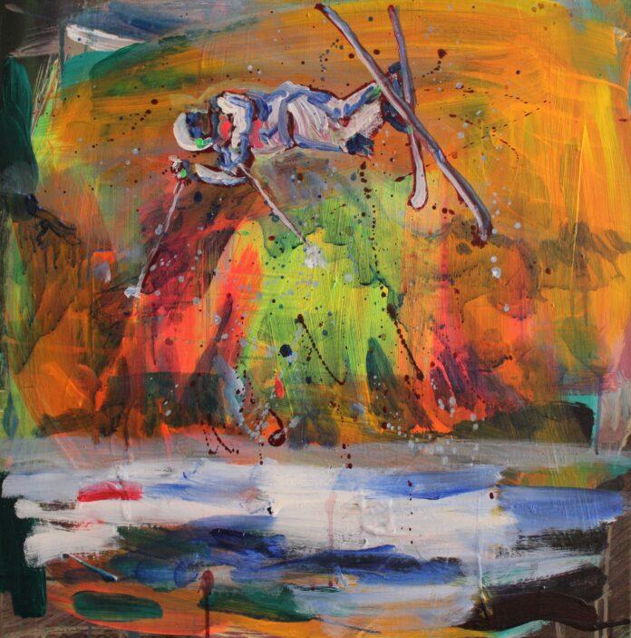 2018, acrylic ona canvas, 65x65